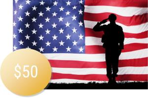 Military Popcorn - Gold Donation