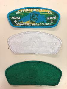 25th Anniversary Council Ghosted Patch Set